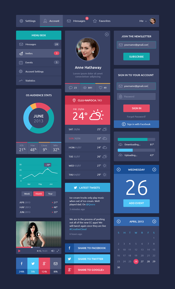 Flat-Design-UI-Components-600