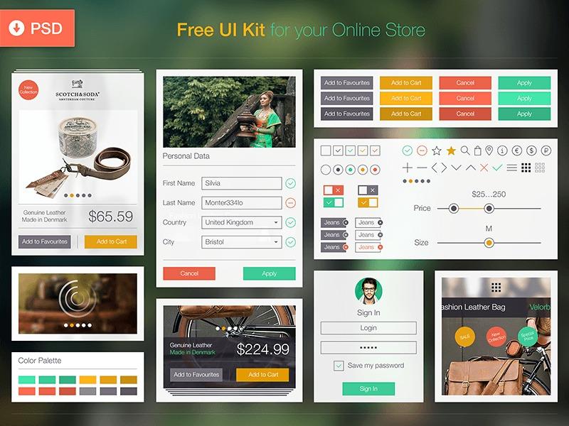 1482642-Free-UI-Kit-PSD