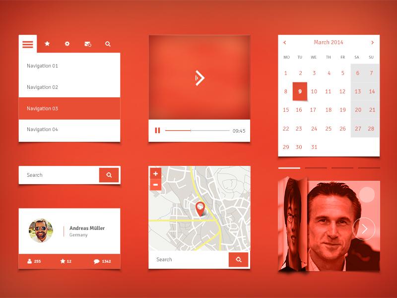 1501467-Free-Mobile-UI-Kit-ewebdesign-com