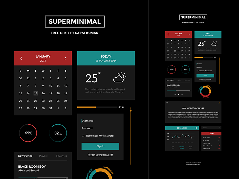 1523812-Superminimal-V2-Freebie-UI-Kit