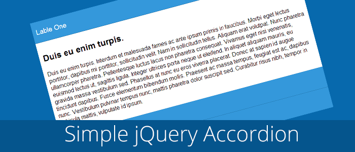 simple jquery accordion thumbnail