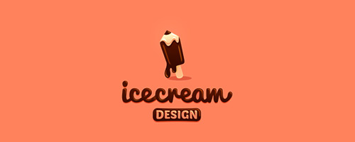 Ice-cream Design Logo
