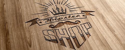 Hipster Shop Logo
