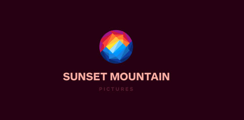 Sunset Mountain Pictures Logo