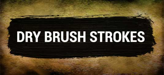 Dry Brush Strokes