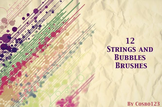 12 Strings And Bubbles Brushes