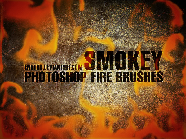 SMOKEY Fire Brushes
