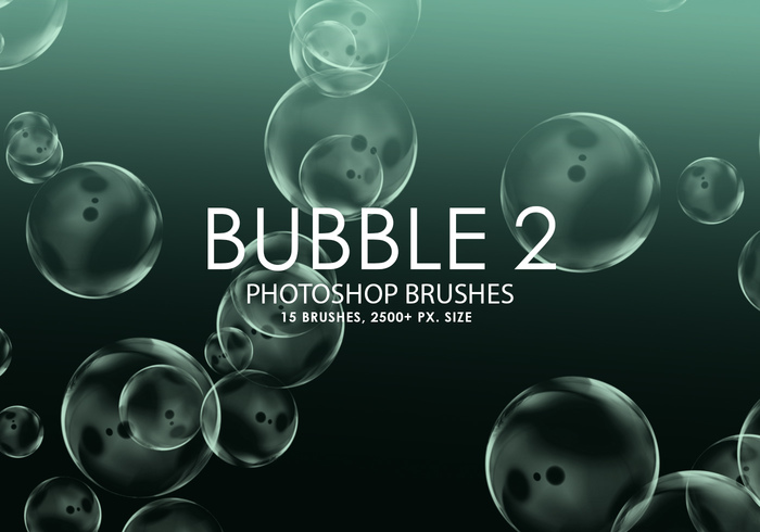 Free Bubble Photoshop Brushes 2