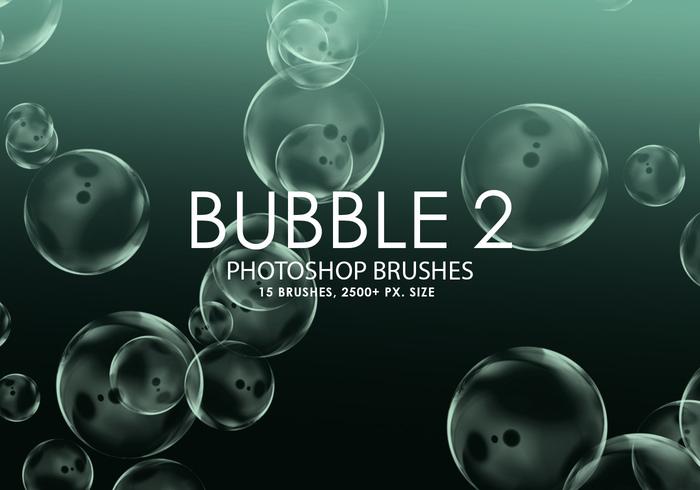 Free Bubble Photoshop Brushes 2