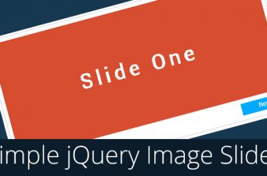 simple jquery image slider