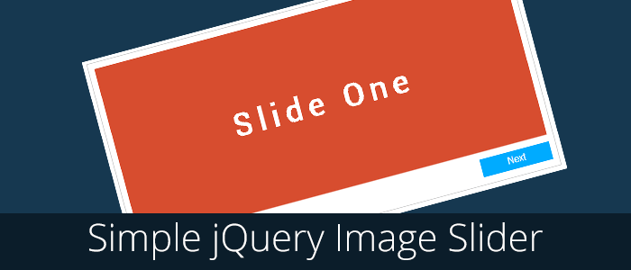 simple jquery image slider