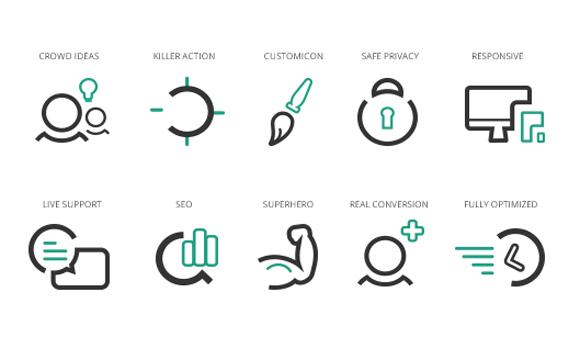 WebAgency Free Icon Set
