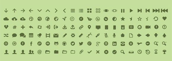 MFG Labs Icon set