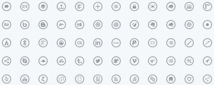 Metrize Icons – A Metro-Style Icon Font
