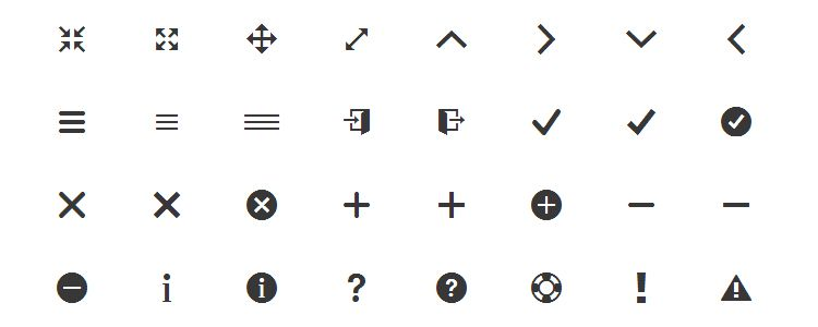 Ionicons – The Huge Icon Font for the Ionic Framework