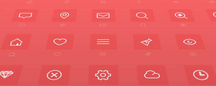 Minimal – A Minimally Designed Icon Font