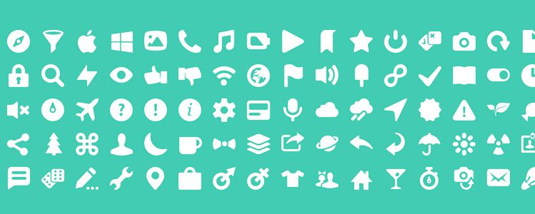 The Icony Icon Font