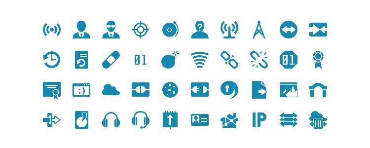 Icon Shock Icon Font