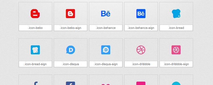 Mono Social – An Icon Font Based on the Mono Social Icon Set