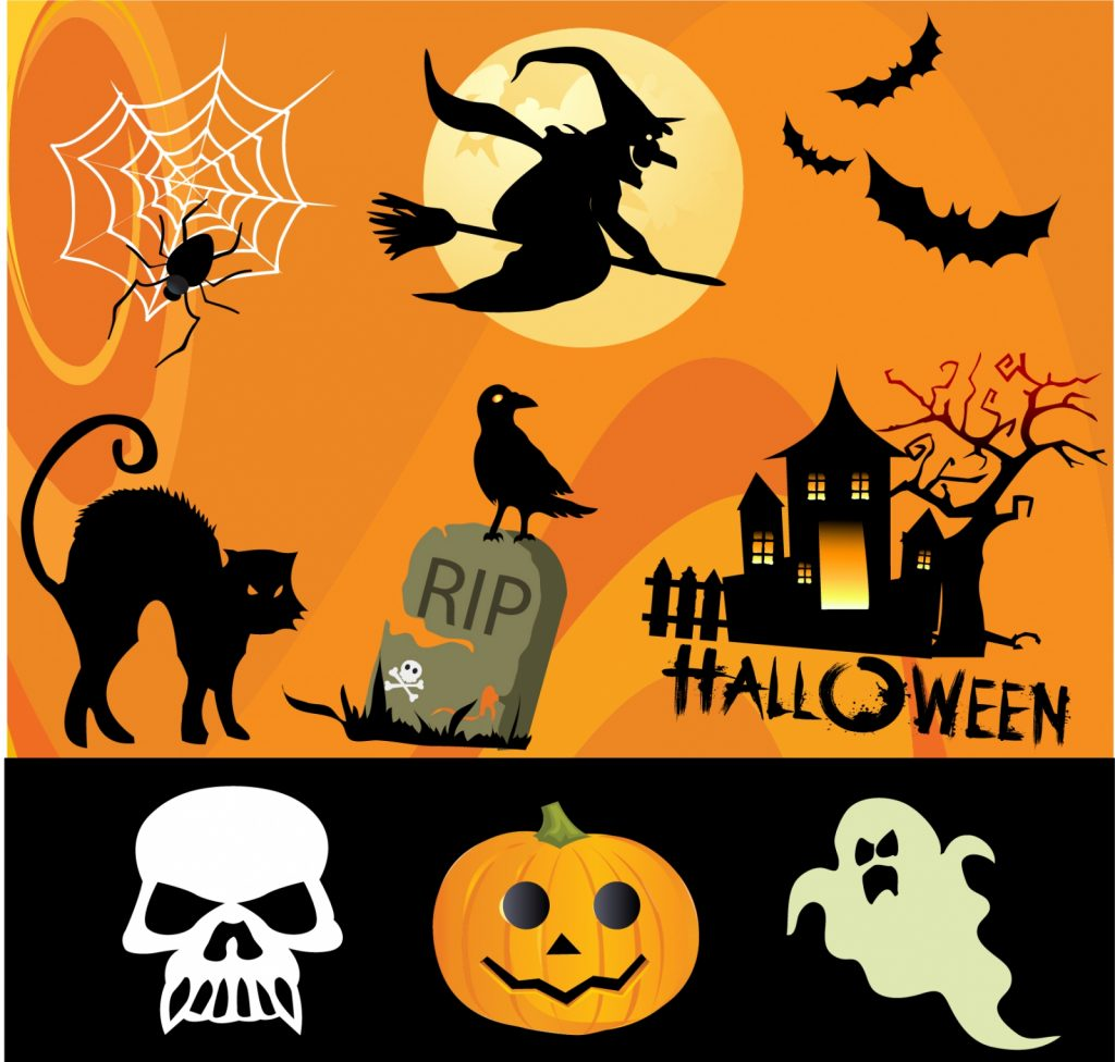Halloween_design_elements