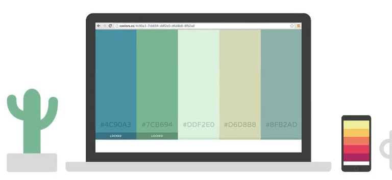 Coolors - A Cool Color Schemes Generator for Cool Designers