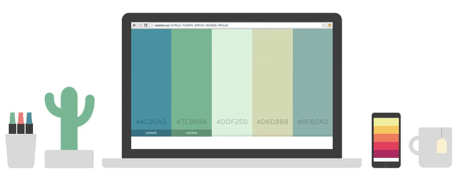 Coolors Tutorial The super fast color palettes generator
