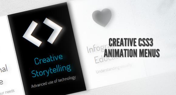 CreativeCSS3Menus