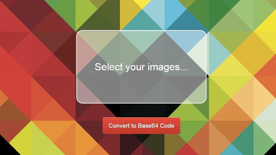 Daturi   Convert images to Base64
