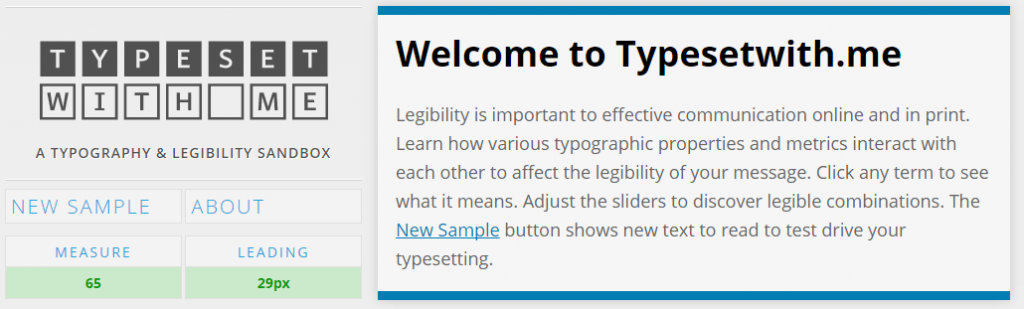 typesetwith.me