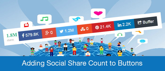 social share counts