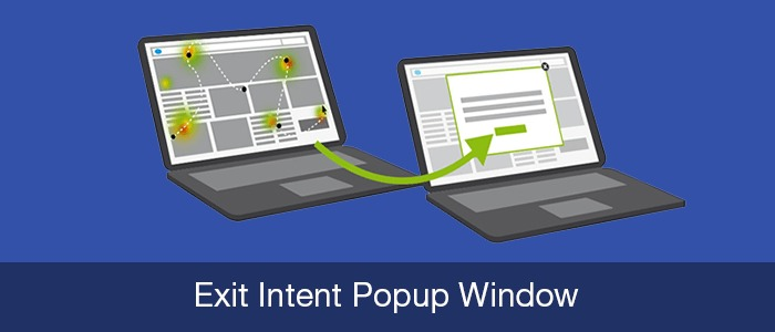 Exit Intent Popup Window