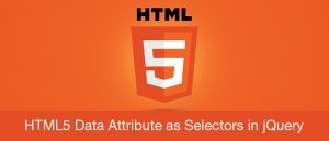 HTML5 Data Attribute as Selectors in jQuery