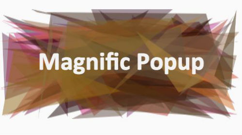 Best jQuery Plugins For UX - Magnific Popup