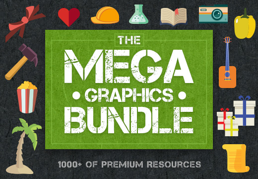 Amazing Graphic Design Bundle with more then 1000+ Resources for Only $49!