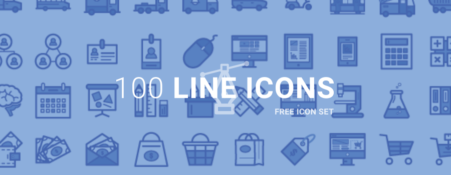 100 Free Icons TylerBrooksDesigns