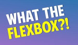 What the Flexbox?