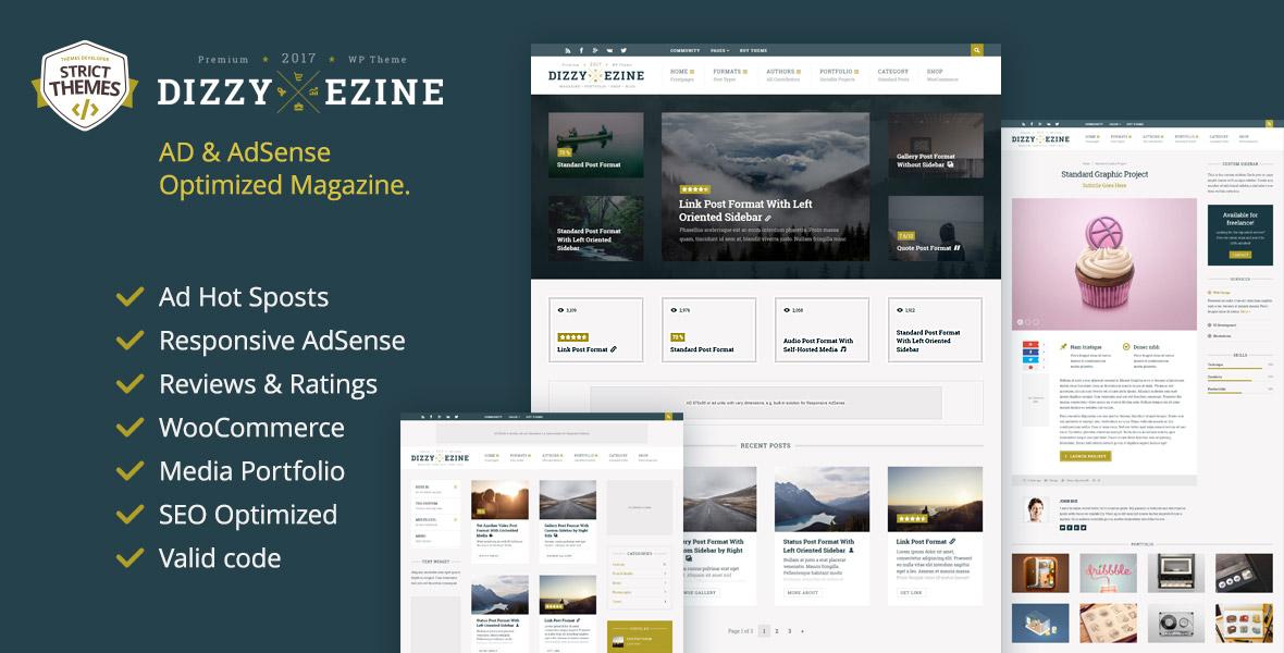 Review WordPress Magazine Theme with Portfolio
