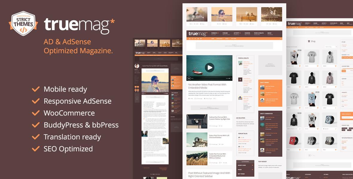AD & AdSense Optimized Magazine WordPress Theme