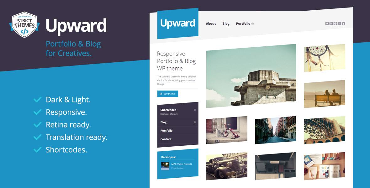 Experimental Portfolio & Blog WordPress Theme