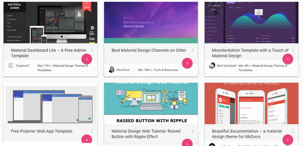 Material Design Helpful Resources Tools And Code Snippets