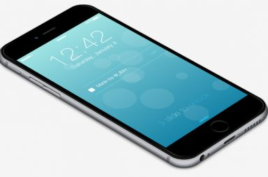 CSS Only iPhone 6 by Fabrizio Bianchi