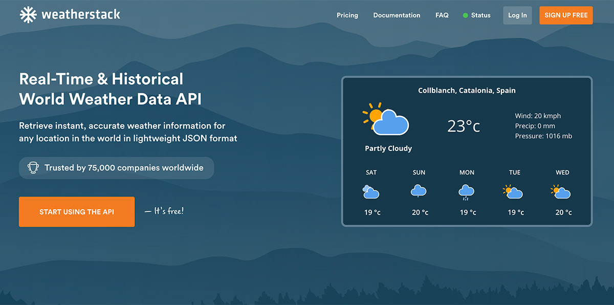 How to Use Weatherstack API for Real-Time Weather Information