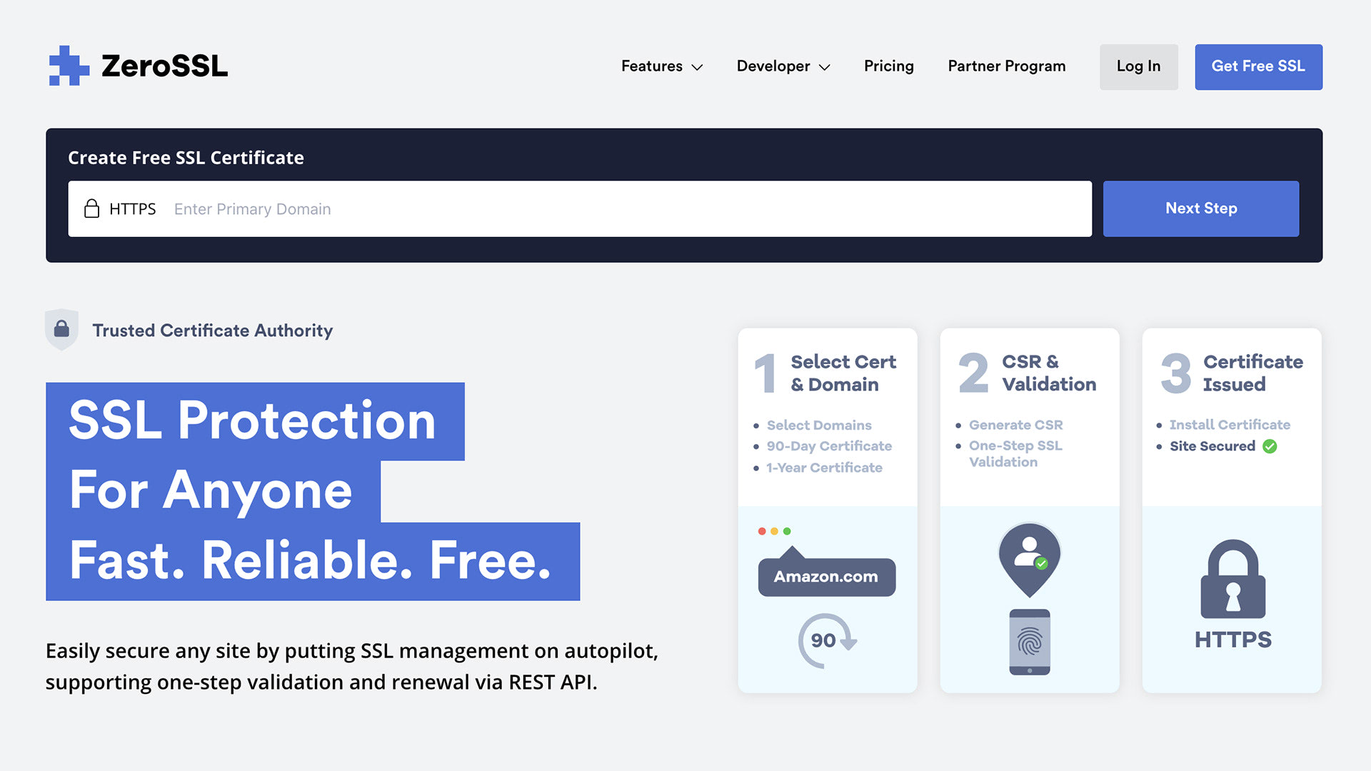 ZeroSSL Review - Free SSL Protection