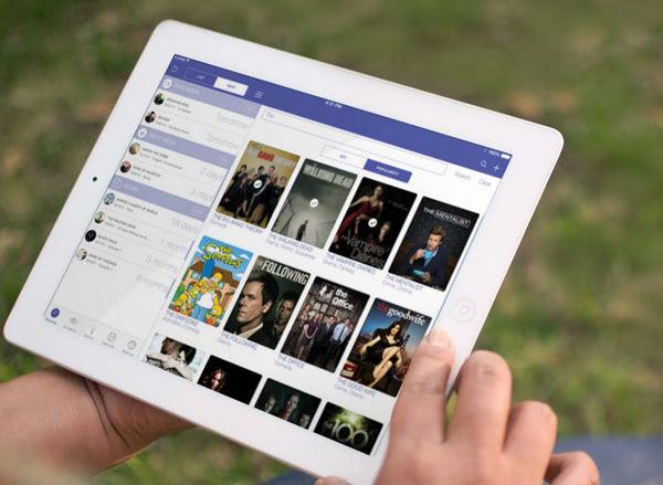 iOS 7 iTV Show iPad App