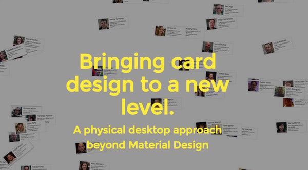 Bringing card design to a new level